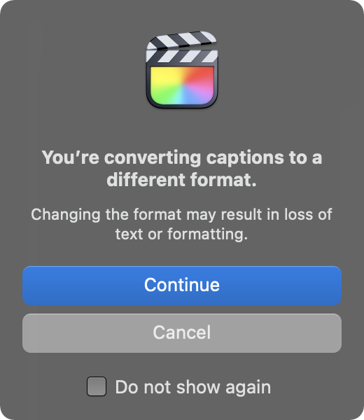 The Big Sur dialog boxes have a new look